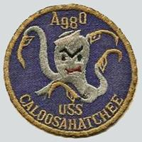 USS Caloosahatchee (AO-98) old style patch